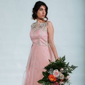 ASOS Bridal Dress (Pink)